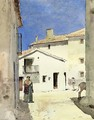 A Street in Denia Spain - Frederick Childe Hassam