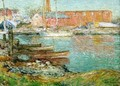 The Red Mill, Cos Cob - Frederick Childe Hassam