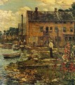 The Fishermen, Cos Cob - Frederick Childe Hassam