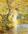 Numph Bathing - Frederick Childe Hassam