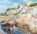 Northeast Gorge at Appledore - Frederick Childe Hassam