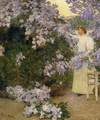 Mrs. Hassam in the Garden1 - Frederick Childe Hassam