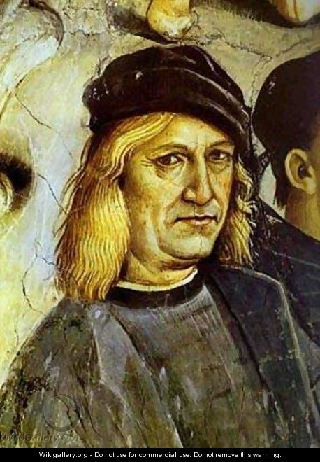 The Deeds Of The Antichrist Detail 2 1499-1502 - Luca Signorelli