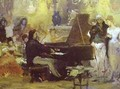 Chopin Performing In The Guest Hall 1887 - Henryk Hector Siemiradzki