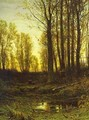 Twilight After Sunset 1874 - Ivan Shishkin