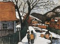 Village at Winter 1910 - Robert King
