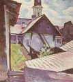 Houses at Nagybanya 1930s - Robert King