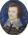 Portrait of a Young Man Probably Robert Devereux Second Earl of Essex 1588 - Nicholas Hilliard