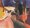 Street at Szentendre in Stormy Weather 1933 - Karl Briullov