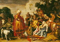 Laban Searching for the Idols - Pieter Pietersz. Lastman