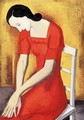 Woman in Red 1933 - George Loftus Noyes
