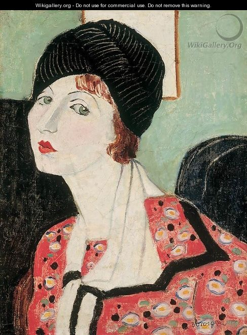 Portrait of My Wife 1920s - George Loftus Noyes