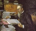 Portrait Of The Composer Nikolay Rimsky Korsakov 1898 - Valentin Aleksandrovich Serov