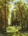 Path In A Forest 1880 - Ivan Shishkin