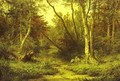Forest Landscape With Herons 1870 - Ivan Shishkin