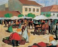 Market Square 1910 - Aurel Bernath
