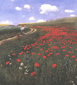 Poppies in the Field 1902 - Pal Merse Szinyei