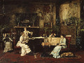 The Music Room 1878 - Mihaly Munkacsy