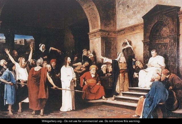 Christ before Pilate 1881 - Mihaly Munkacsy