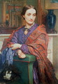 A Lady in an Interior - William Holman Hunt