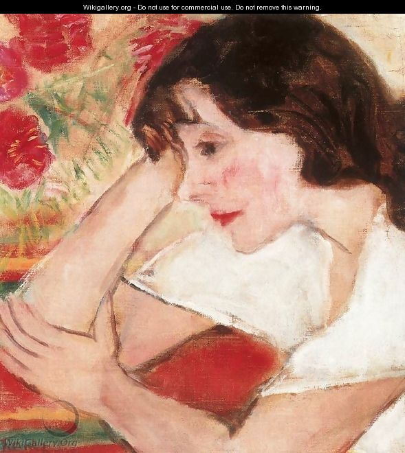 Mimi Leaning on her Elbow 1933 - Ferenc Hatvany