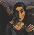 Vilma with an Apple 1928 - Louis Valtat