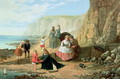 A Day at the Seaside - William Bell Scott