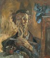 Wartime Misery Self portrait 1945 - Istvan Reti