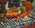 Still life with Fruits 1929 - Auguste Herbin