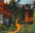 Confines of the Village 1922 - Auguste Herbin
