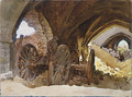 Wheels in Vault 1918 - John Singer Sargent