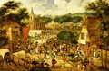 A Village Fair - Roelandt Jacobsz Savery