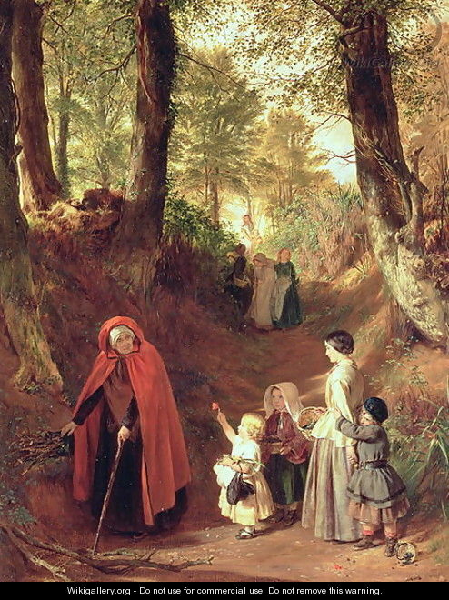 Youth and Age 3 - John Callcott Horsley