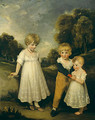 The Sackville Children - John Hoppner