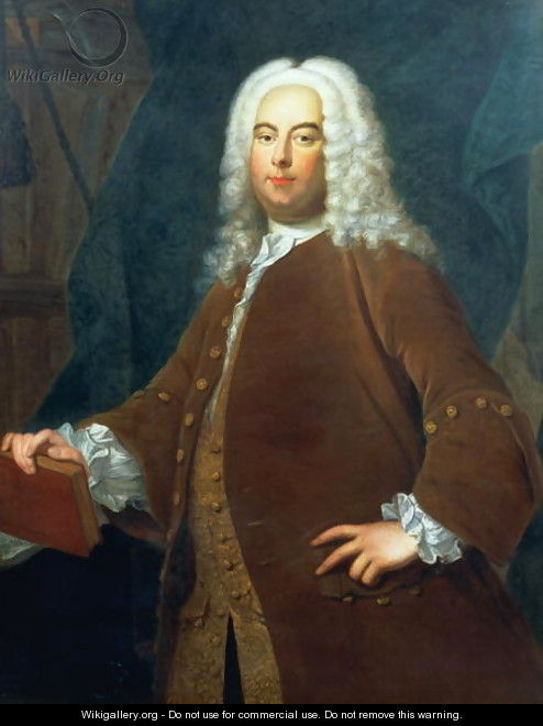 Portrait of George Frederick Handel - Thomas Hudson