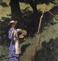 The Woman Painter 1903 - Karoly Ferenczy