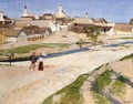Landscape at Szentendre 1907-08 - De Lorme and Ludolf De Jongh Anthonie