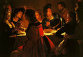 The Wedding Supper - Gerrit Van Honthorst