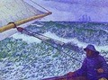 Man At The Helm 1892 - Theo Van Rysselberghe