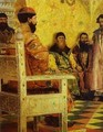 Tzar Mikhail Fedorovich Holding Council With The Boyars In His Royal Chamber 2 1893 - Andrei Petrovich Ryabushkin