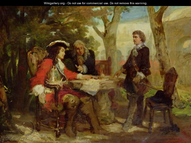 Meeting between Jean Cavalier - Jules Salles-Wagner
