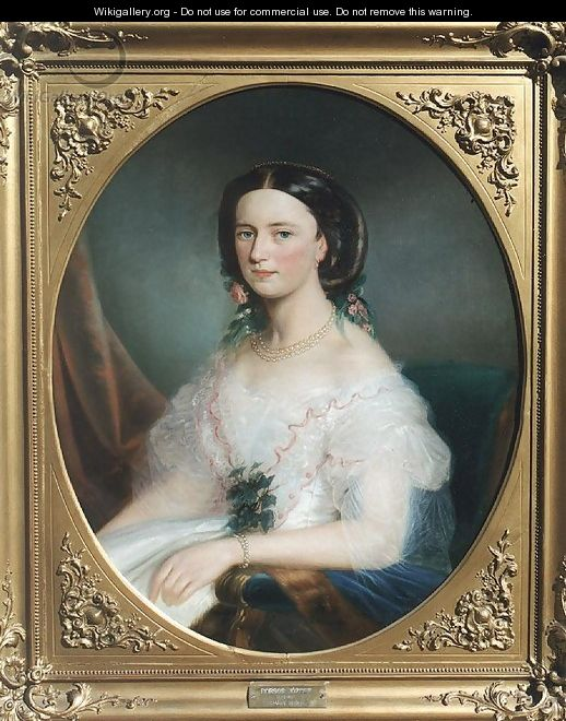 Countess Almasy 1852 - Jozsef Borsos