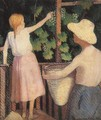 Picking Grapes 1906 - Sidney Harold Meteyard