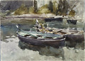 Small Boats 1913 - John Singer Sargent