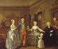 The Western Family 1730s - William Hogarth