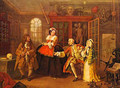 The Visit To The Quack Doctor 1743 - William Hogarth