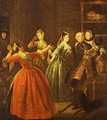 The Theft Of A Watch 1731 - William Hogarth