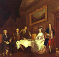 The Strode Family 1738-1742 - William Hogarth