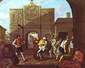 The Roast Beef Of Old England Or Calais Gate 1748 - William Hogarth