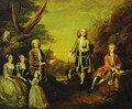 The Ashley And Popple Family 1730 - William Hogarth